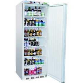 Armoire réfrigérée positive laquée blanc 400L
