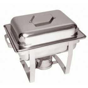 CHAFING DISH ROND INOX GN 1 / 2