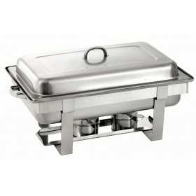 CHAFING DISH ROND INOX GN 1 / 1 65MM H320MM