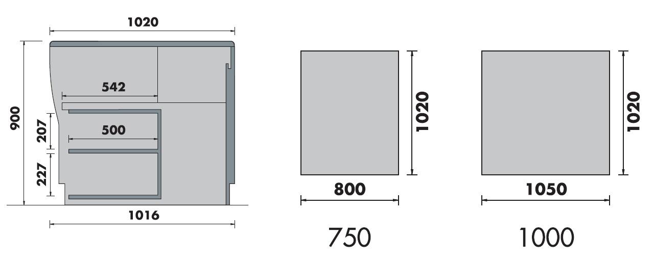 vitrine réfrigérée patisserie