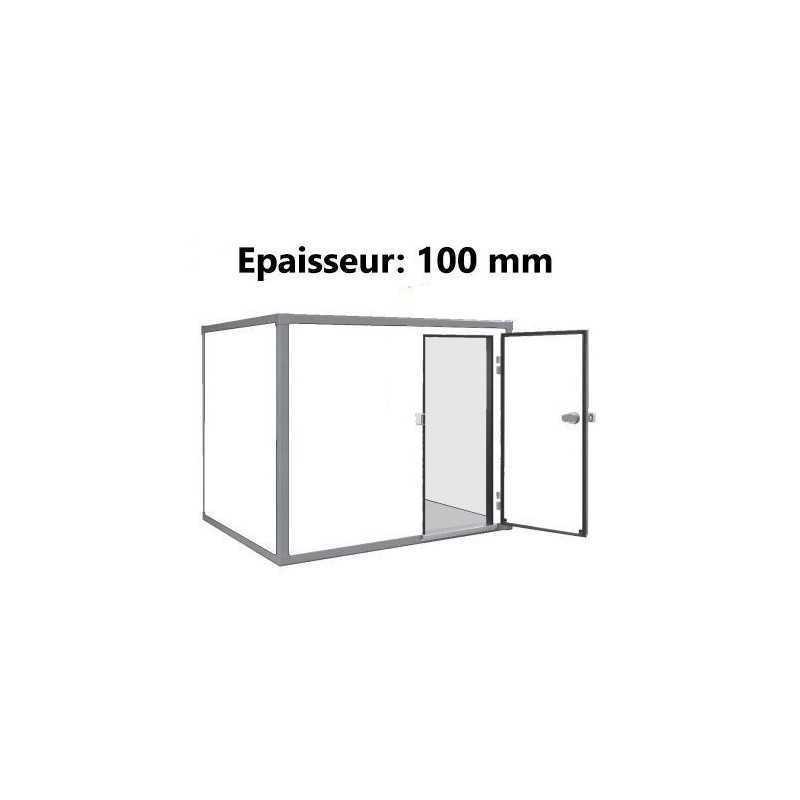 Chambre froide negative sans groupe avec sol 10 m3