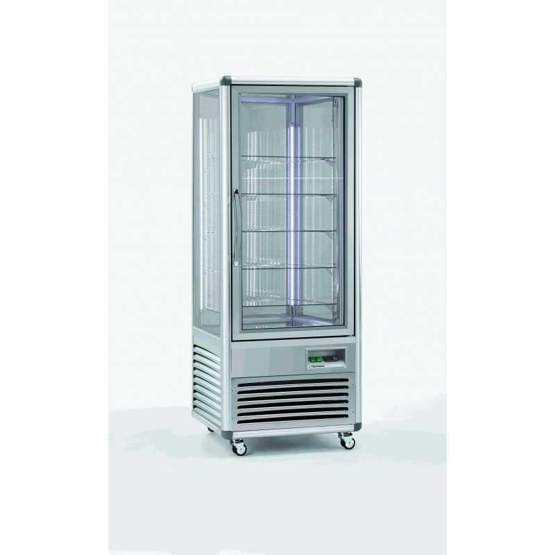 Vitrine réfrigérée negative panoramique fixe 500L