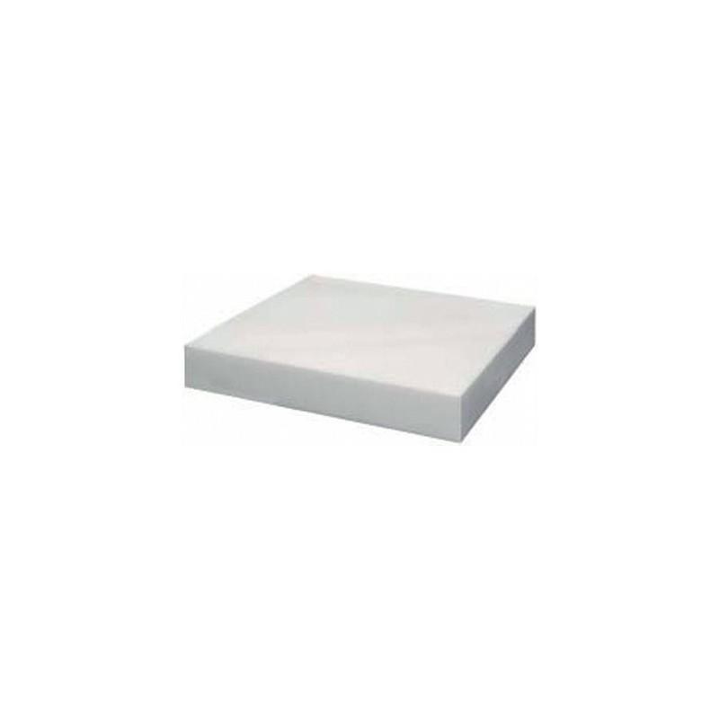 Plaque de découpe poly blanc epaisseur 25 mm