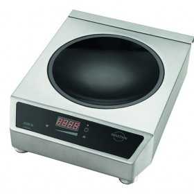 Wok à induction 3,1 kw monophasé 230 V