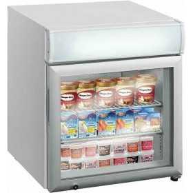 Mini vitrine de comptoir réfrigérée négative 50 L