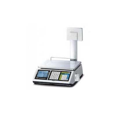 Balance poids prix CAS CT 100 Fiscale avec colonne
