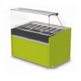 Vitrine Isotech Easy Slim réfrigérée crèmes glacées