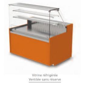 Vitrine Isotech Easy Slim réfrigérée ventilé sans réserve