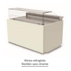 Vitrine réfrigérée ISOTECH Luxy avec réserve
