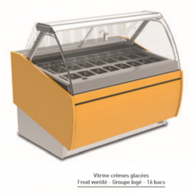 Vitrine ISOTECH Tropic froid ventilé