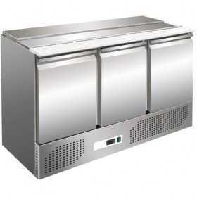 Saladette réfrigérée ouverte 3 portes