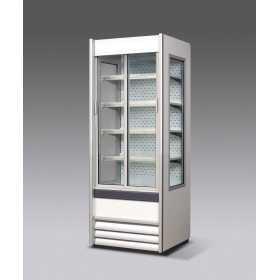 Vitrine réfrigérée libre-service SEDA Alaska VBN Slim avec portes coulissantes