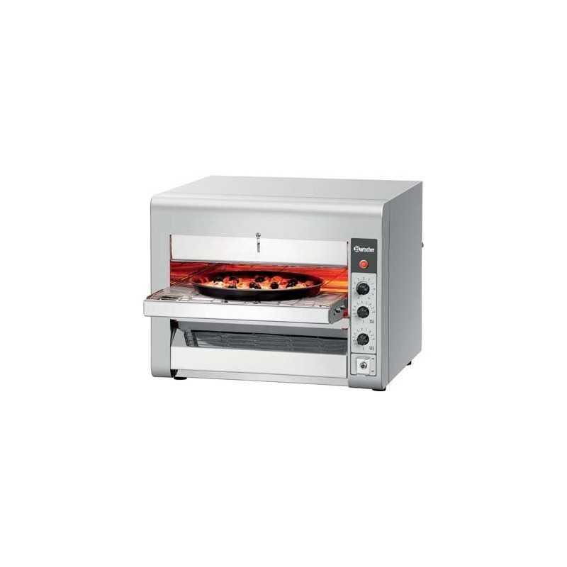 Four à pizza convoyeur électrique compact Bartscher
