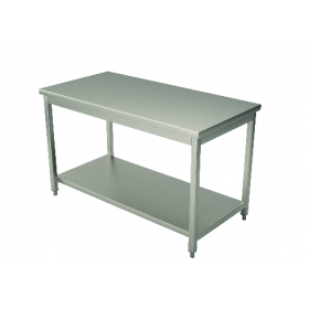 Table centrale inox 700
