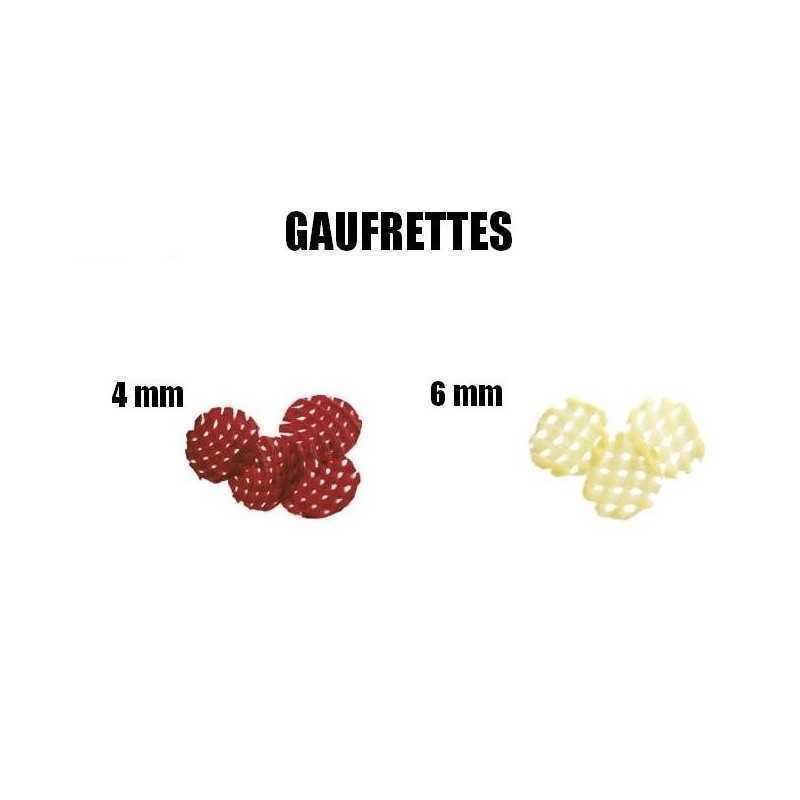 GAUFRETTES 4MM RÉF 28177