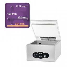 Machine sous vide de table Komet gourmet saver