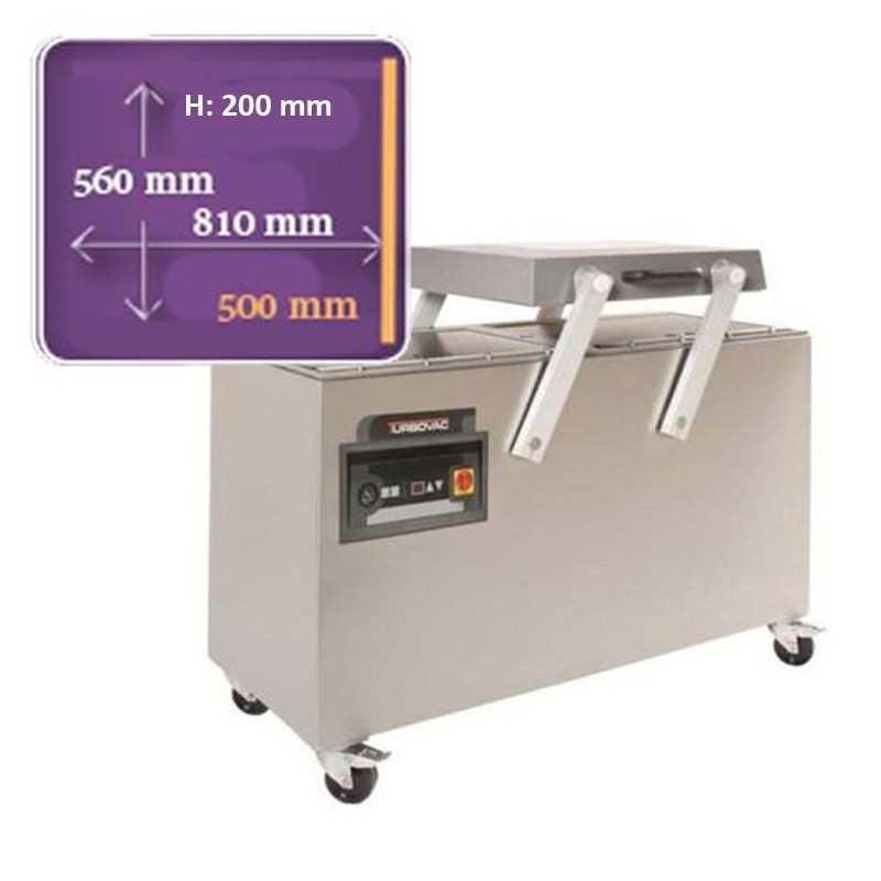 Machine sous vide Turbovac SB 820