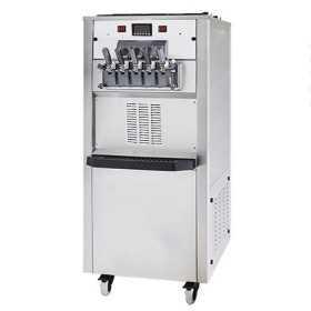 Machine à glaces italiennes professionnelle 3 parfums 5 manettes