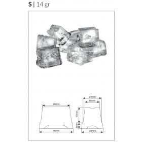 Machine à glaçons pleins Icetech SS25