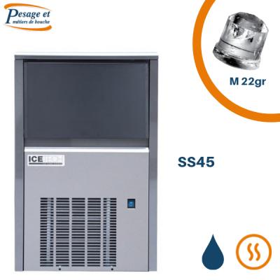 Machine à glaçons pleins Icetech SS45