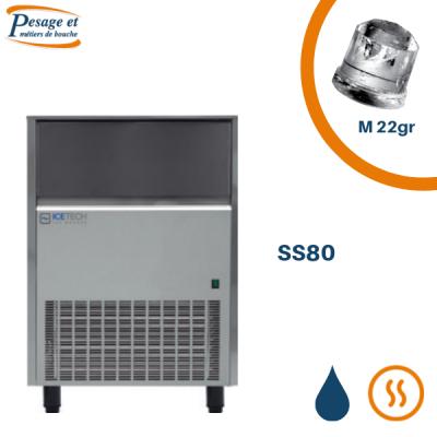 Machine à glaçons pleins Icetech SS80