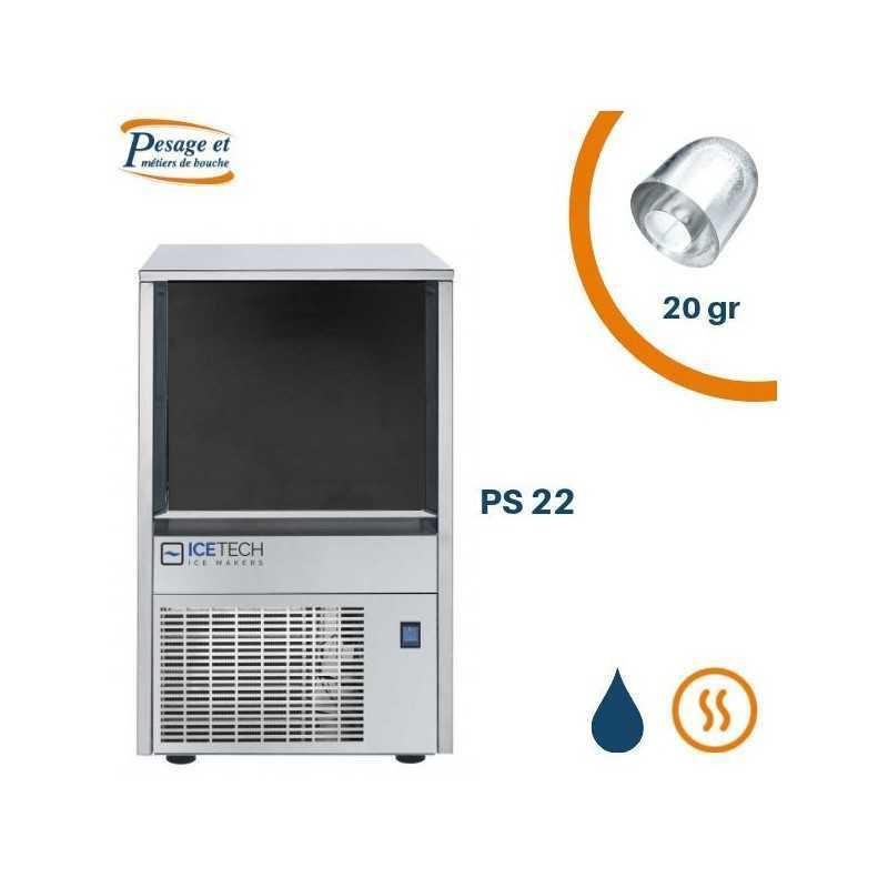 Machine à glaçons creux Icetech PS22