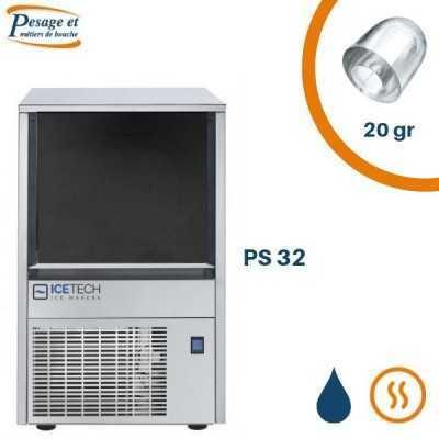 Machine à glaçon creux Icetech PS32
