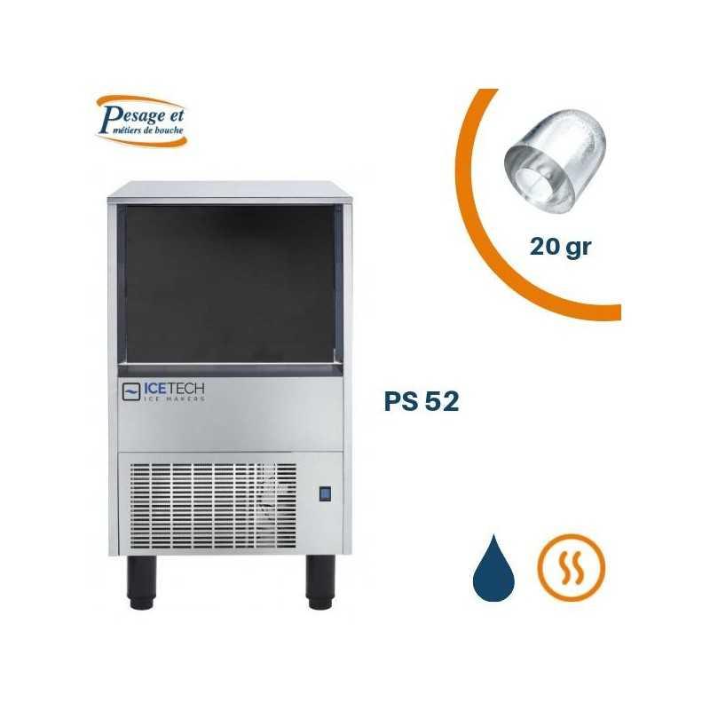 Machine à glaçons creux Icetech PS52