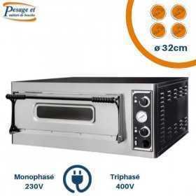 Four à pizza électrique PRISMAFOOD 4 Pizzas Ø32cm
