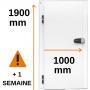 PORTE PIVOTANTE AVEC UN PASSAGE DE 1000 MM AU LIEU DE 800 MM