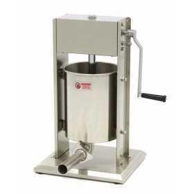Poussoir à saucisse manuel vertical 10L en inox
