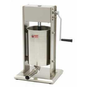 Poussoir à saucisse manuel vertical 12L Inox