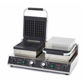 Gaufrier électrique professionnel double grill