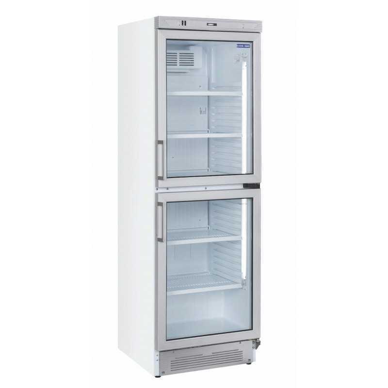 Armoire boissons vitrée réfrigérée positive 374 L