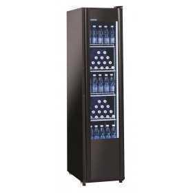 Armoire boissons vitrine réfrigérée 300L Noir