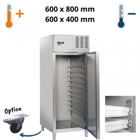 Armoire réfrigérée ou de congélation inox 600x800mm