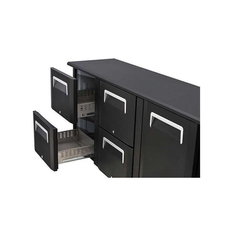 Option tiroirs pour arrière bar réfrigéré Cool head