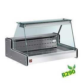 Vitrine mobile réfrigérée stand de marché