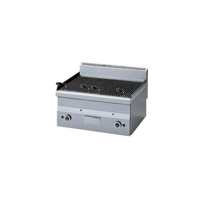 Grill pierre de lave à gaz professionnel Modular 650