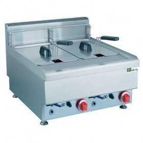 Friteuse professionnelle électrique 2 x 12,5 litres