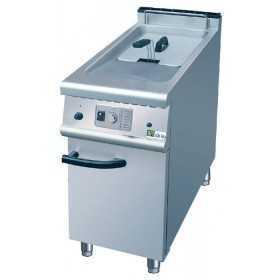 Friteuse professionnelle gaz sur coffre 20 litres