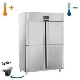 Armoire réfrigérée ou de congélation GN 2/1 quadruple portillons