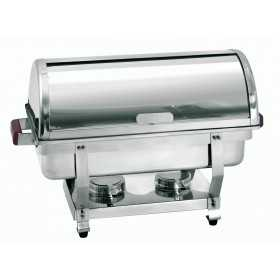 CHAFING DISH ROND INOX GN 1 / 1 65MM H430MM