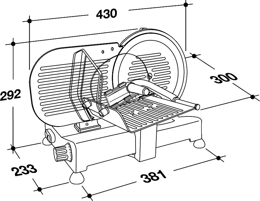 trancheur électrique